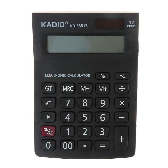 Настольный 12-разрядный калькулятор Kadio KD-3851B