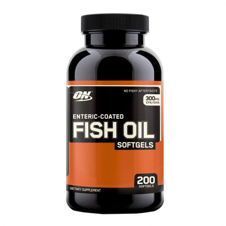 Fish Oil Softgels от Optimum Nutrition 200 кап_