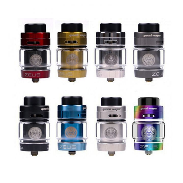 GEEKVAPE BUBBLE GLASS ZEUS DUAL RTA