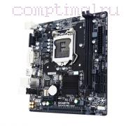 Материнская плата Lga1151 (чипсет H110, Micro-ATX, 2 слотов DDR4, USB3.0) — Gigabyte GA-H110M-S2V (BOX)