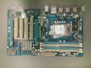 Материнская плата Gigabyte LGA1156 GA-P55-S3 H55 4xDDR3-2200+ PCI-E DSub 8ch 6xSATA GLAN ATX