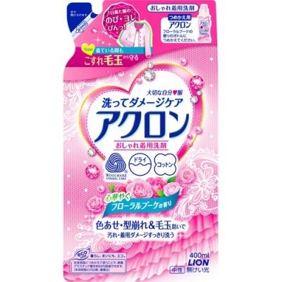Lion Средство для стирки деликатных тканей Акрон с цветочным ароматом 400 мл