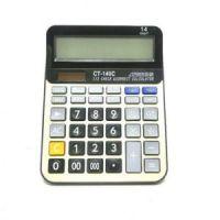 Настольный 14-разрядный калькулятор с двойным питанием CT-140C рис 1
