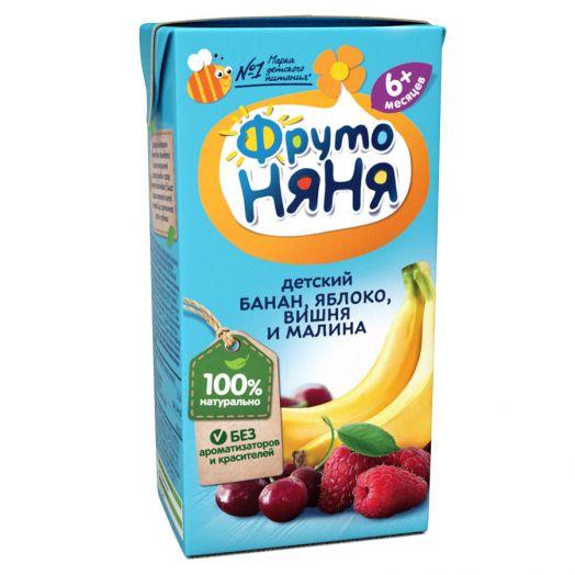 Нектар Фрутоняня 0,2л из смеси фруктов