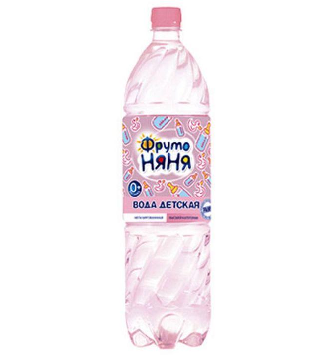 Вода пит. Фрутоняня 1,5л