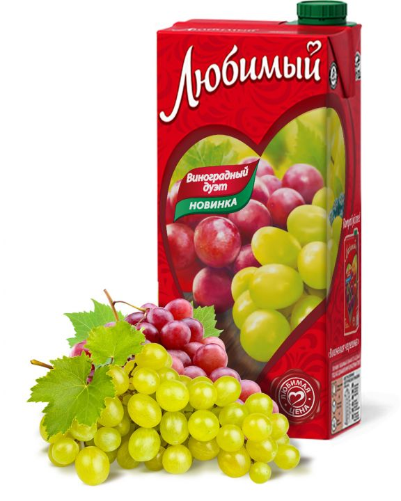 Нектар Любимый 0,95л Виноградный дуэт