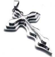 Нательный крест из стали
