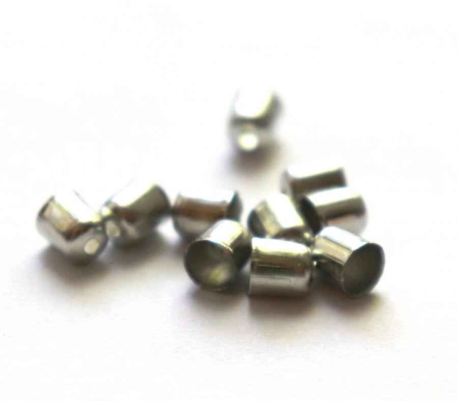 Колпачок, с отверстием, D-4 мм, Никель, 10 шт/упак