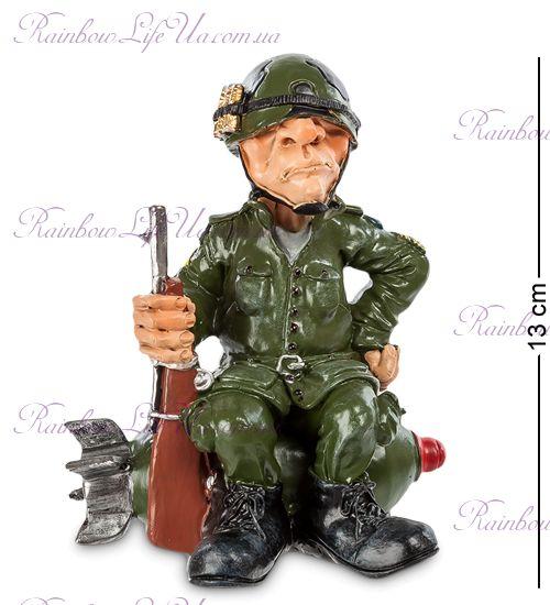 "Статуэтка солдат с автоматом ""W.Stratford"""