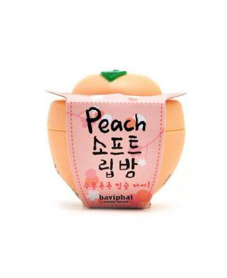 Бальзам для губ персик Baviphat Peach Soft Lip Balm 6гр