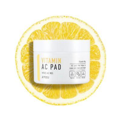 Пады для лица отшелушивающие A'PIEU Vitamin AC Pad 80гр