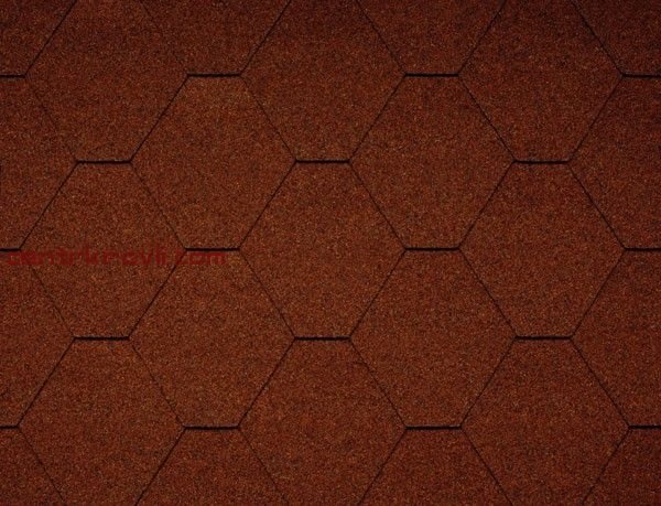 Гибкая черепица Icopal/Plano Nature/кирпично-красный