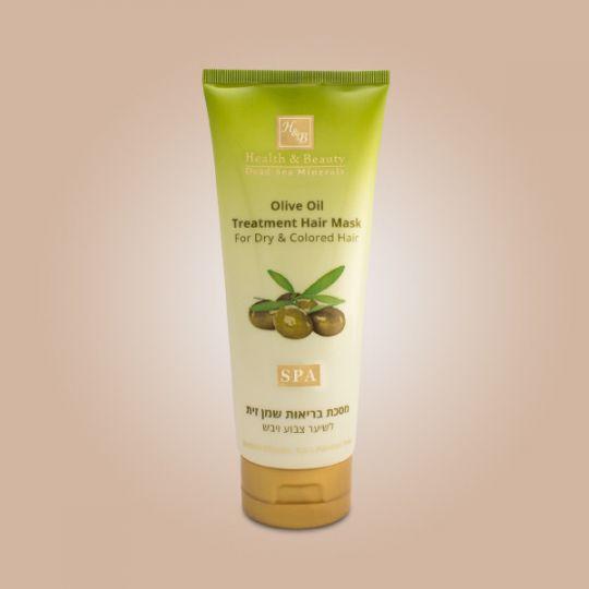 Питательная маска для сухих и повреждённых волос с Оливковым маслом Health & Beauty (Хелс энд Бьюти) 200 мл