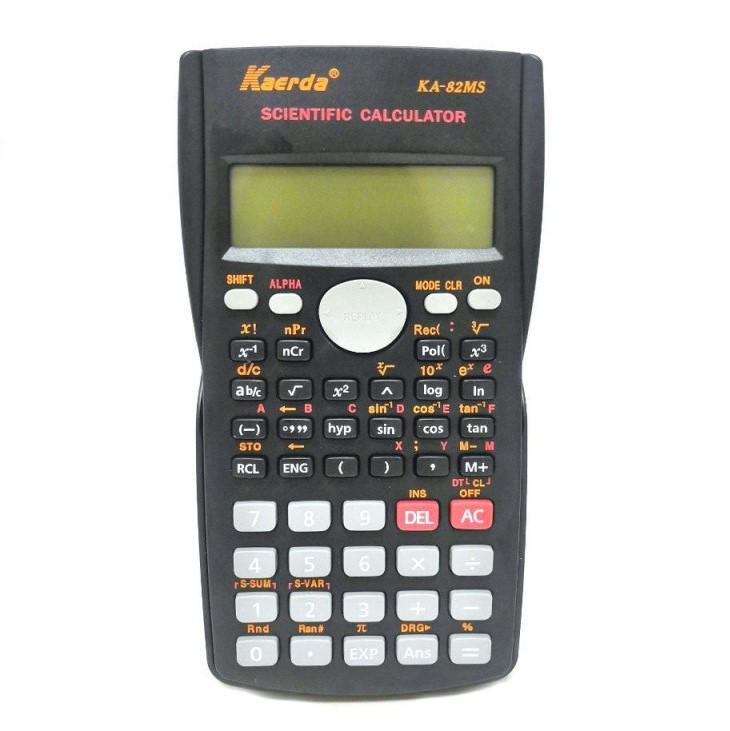 Двухстрочный Научный 10-Разрядный Калькулятор Kaerda KA-82MS