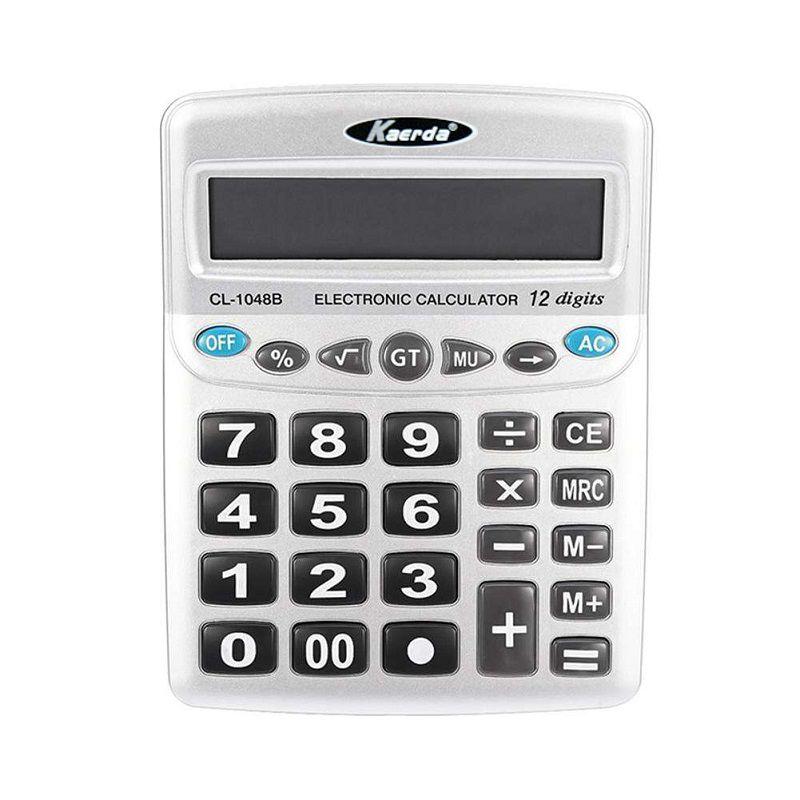Настольный 12-разрядный калькулятор с двойным питанием Kaerda KD-1048B