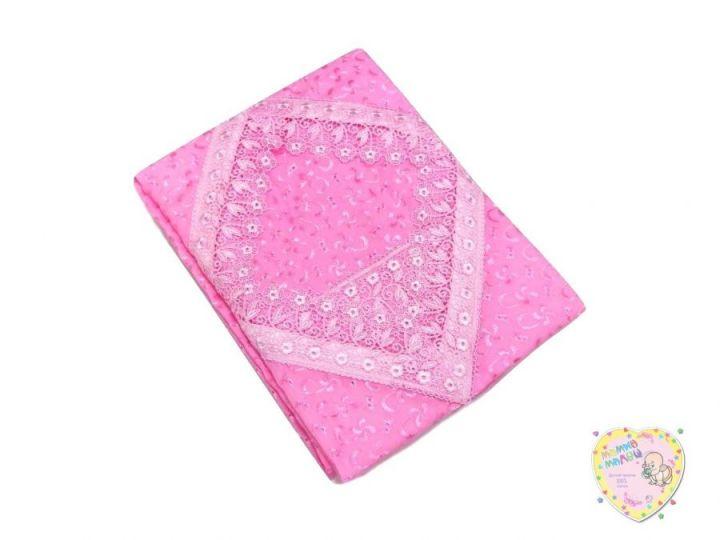 Комплект постельного белья 3 пред. 3-PO001(c)-BA (батист розовый)