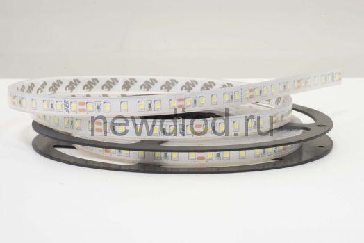 Лента светодиодная герметичная ELF 480SMD диодов (2835), 24В, IP68, 5м, ГИПЕР, белая