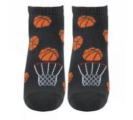 """Мужские цветные укороченные носки 418 """"К"""" баскетбол"""