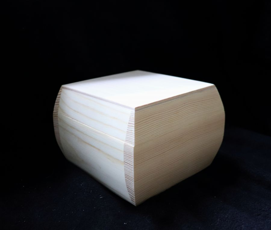 Шкатулка для декупажа, массив сосны, 15*15*10 см