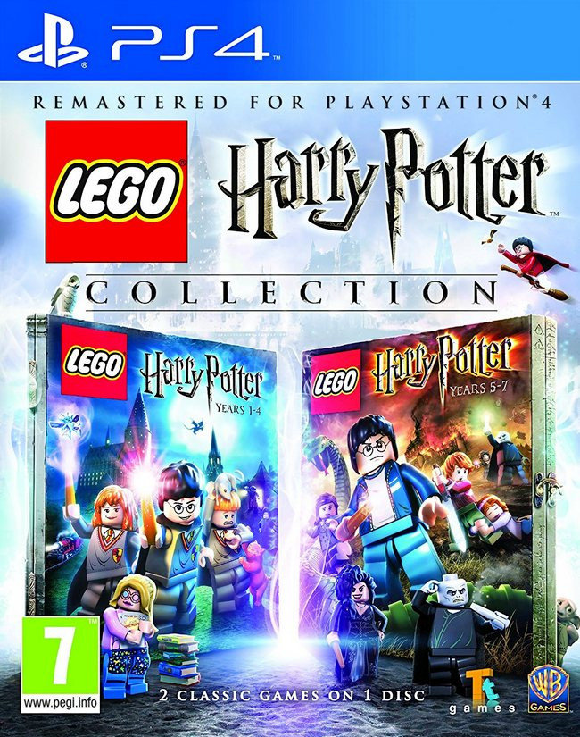 LEGO Harry Potter Collection ps4,(анг.версия)