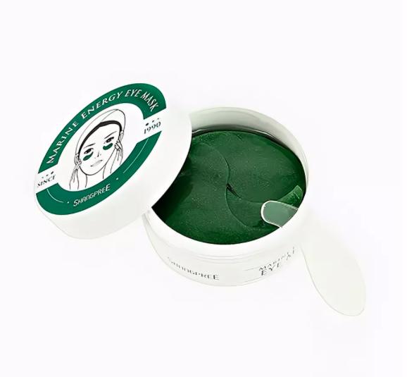 Патчи для глаз `SHANGPREE` гидрогелевые с экстрактом спирулины 60 шт КОРЕЯ