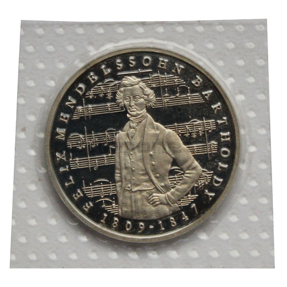5 марок 1984 ФРГ 175 лет со дня рождения Феликса Мендельсона
