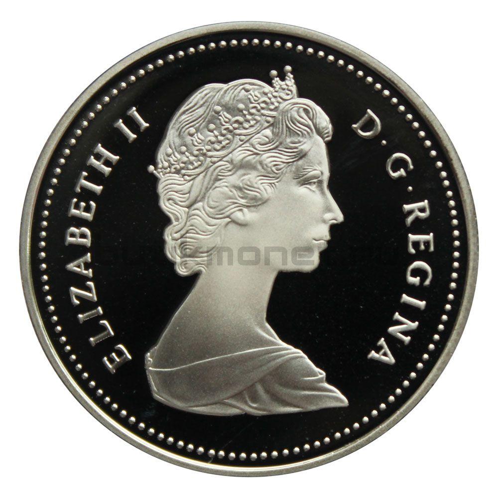 1 доллар 1986 Канада 100 лет городу Ванкувер