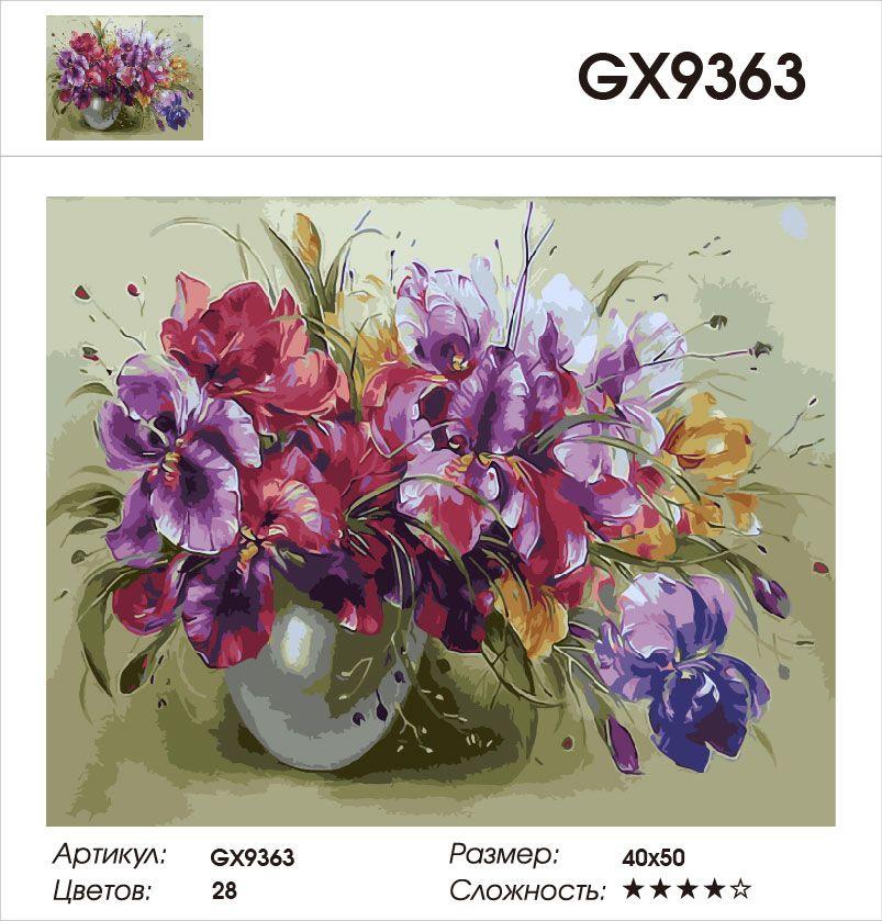 Картина по номерам на холсте GX9363