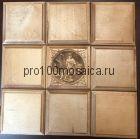 80001 Бесшовная деревянная мозаика из березы серия WOOD, 330*330*10 мм (GWD)