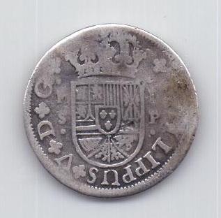 1 реал 1728 года Севилья Испания