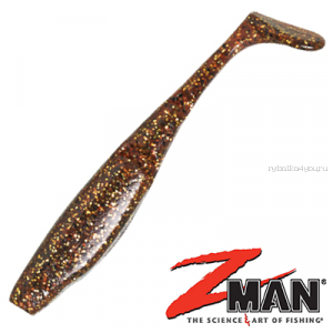 Мягкие приманки Z-Man Scented PaddlerZ 5'' 127 мм / упаковка 5 шт / цвет: 230 Rootbeer Gold
