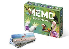 Игра Мемо Пернатый мир