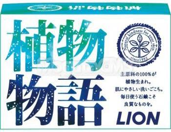 Lion Мыло кусковое Herb Blend натуральное с цветочным ароматом 90 г