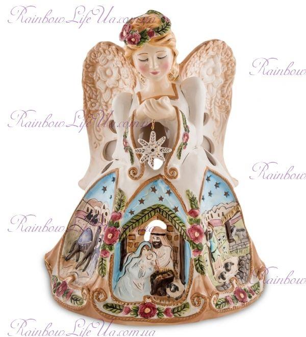 """Подсвечник ангел рождества """"Pavone"""""""