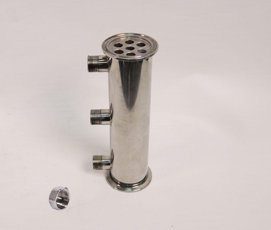 Дефлегматор кожухотрубный Эверест 3 Про, под кламп 2 дюйма