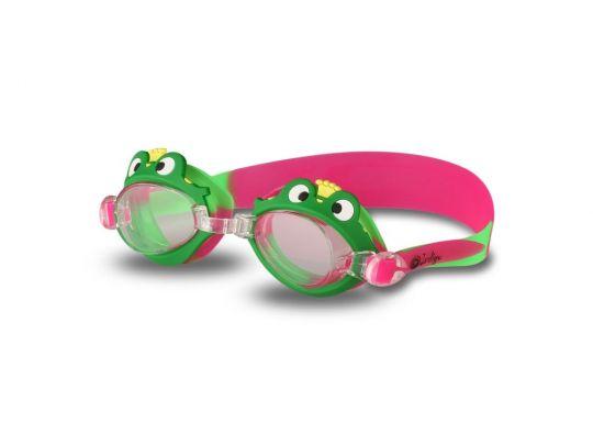 Очки для плавания детские Indigo G1700 Лягушка