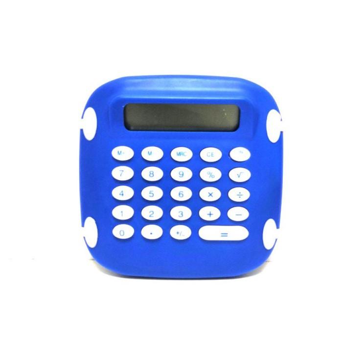 Карманный 8-разрядный калькулятор на батарейках Classe CLA-2804, цвет синий