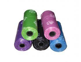 Пакеты для уборки цветные 20шт