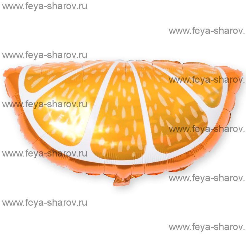 Шар Долька апельсина 66 см