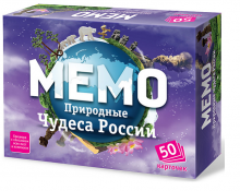 Настольная игра Мемо Природные чудеса России