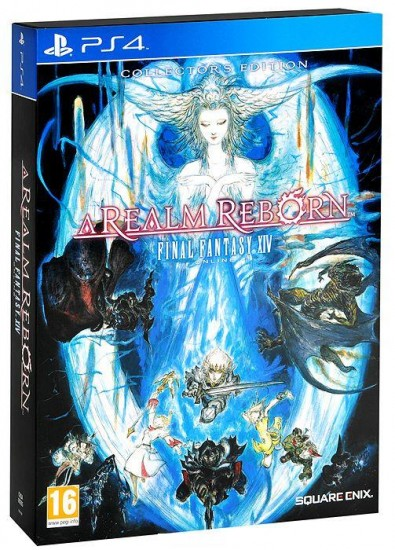 Игра Final Fantasy XIV Arealm Reborn Online Collectors Edition (PS4)