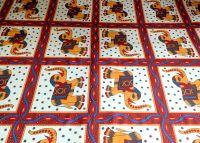 Индийское покрывало на кровать со слонами, купить в интернет магазине в Москве