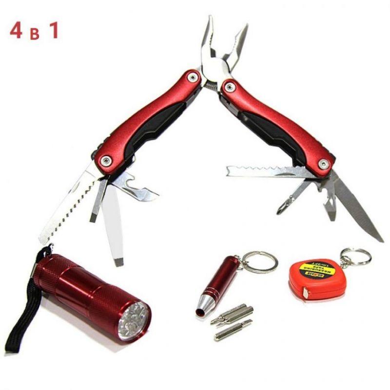 Набор мультитулов 4 в 1 Sakata 4 PС Multi-Function Tool Set