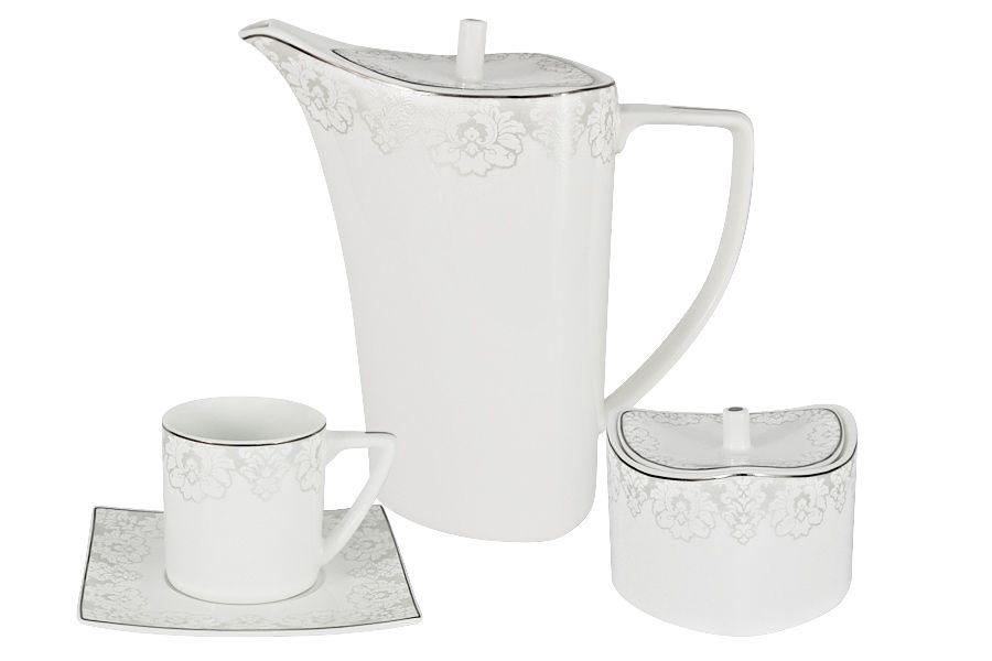 """Чайный набор на 6 персон """"Вероника"""", 14 пр."""