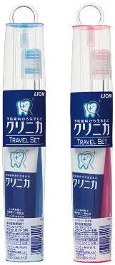 Lion Дорожный мини набор Cliniсa Travel set зубная щётка + зубная паста