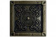 Метал. плитка CAMOMILE 5.0х5.0 Bronze