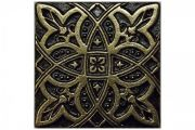 Метал. плитка ZODIAC 7.5х7.5 Bronze