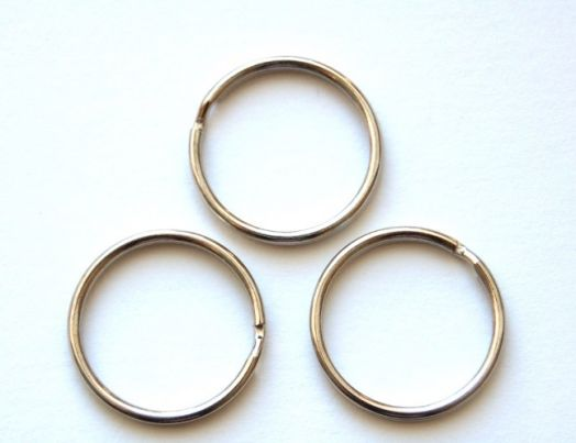 Основа для брелока кольцо, D -31 мм, 10 шт/упак