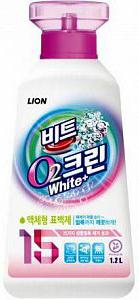 Lion Clean Plus Кислородный отбеливатель жидкий 1,2 л