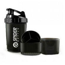 Стакан-шейкер нового поколения Spider Bottle, 500 мл, Цвет: Черный